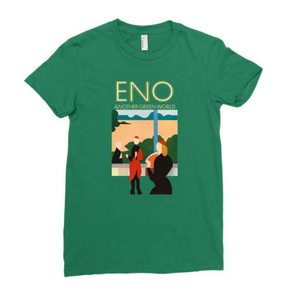 Brian Eno Music Ladies Fitted T-shirt Designed By Veriheranto