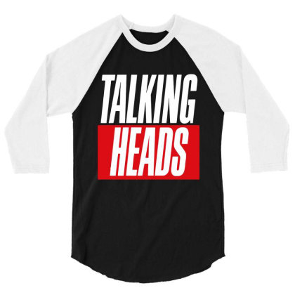 Heads Retro 3/4 Sleeve Shirt Designed By Romeo And Juliet