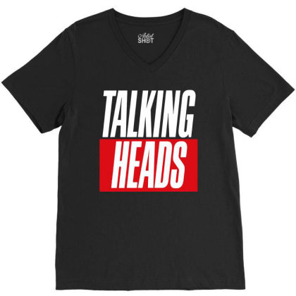 Heads Retro V-neck Tee Designed By Romeo And Juliet