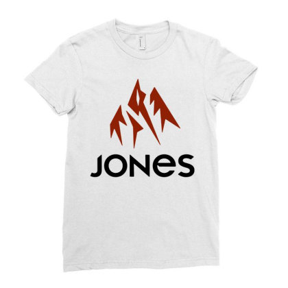 Jones Snowboard Ladies Fitted T-shirt Designed By Swan Tees