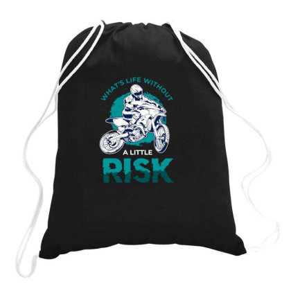 Dirt Bike Drawstring Bags Designed By Jesns