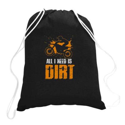 Dirt Bike Apparel Drawstring Bags Designed By Jesns