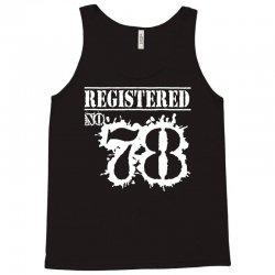 registered no 78 Tank Top   Artistshot