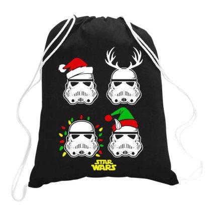 Santa Xmas Drawstring Bags Designed By Romeo And Juliet