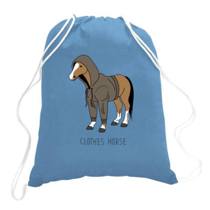 Clothes Horse Drawstring Bags Designed By Jekfor