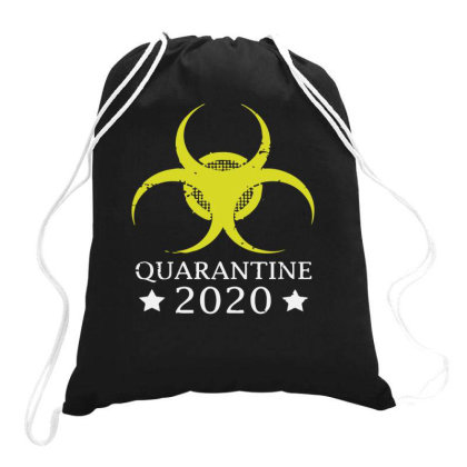 Quarantine 2020 Drawstring Bags Designed By Yusrizal_