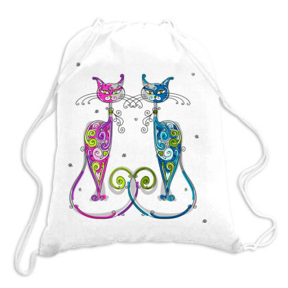 Cat Drawstring Bags Designed By Estore