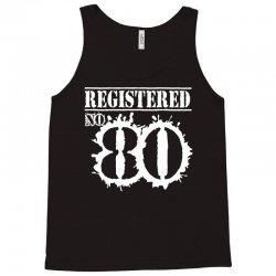 registered no 80 Tank Top | Artistshot