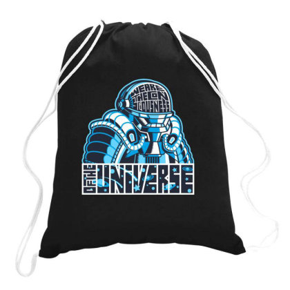 Consciousness Of The Universe Drawstring Bags Designed By Jekfor