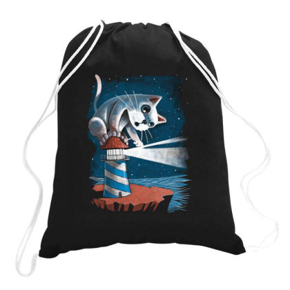 Curiosity Drawstring Bags Designed By Jekfor