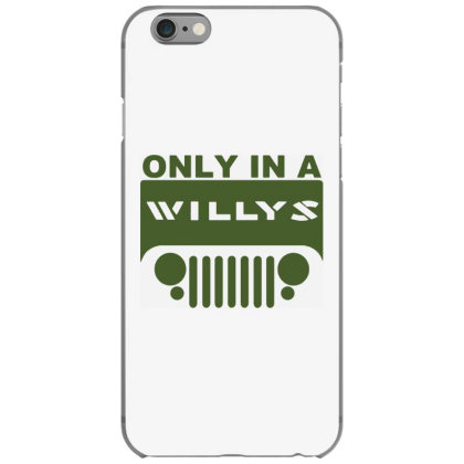 Jeep Willys Iphone 6/6s Case Designed By Swan Tees