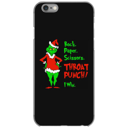 Rock Paper Scissors Iphone 6/6s Case Designed By Romeo And Juliet