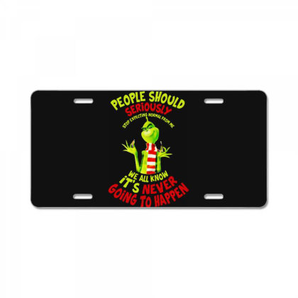 People Should Seriously Stop Christmas Funny Gifts License Plate Designed By Romeo And Juliet