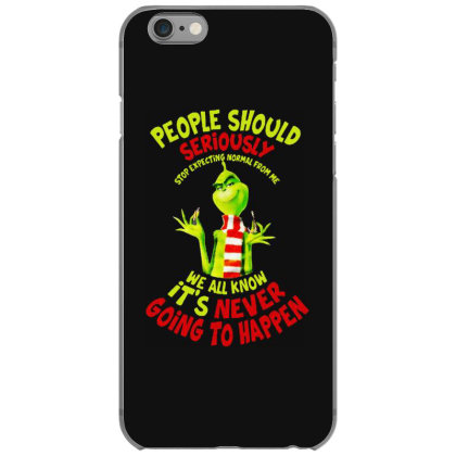 People Should Seriously Stop Christmas Funny Gifts Iphone 6/6s Case Designed By Romeo And Juliet
