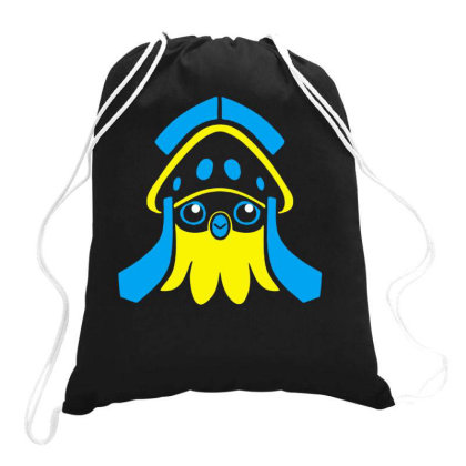 Inkay Blooper Drawstring Bags Designed By Swan Tees