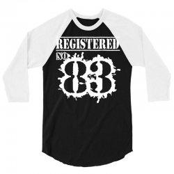 registered no 83 3/4 Sleeve Shirt | Artistshot