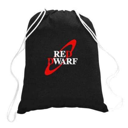 Red Dwarf Drawstring Bags Designed By Yusrizal_