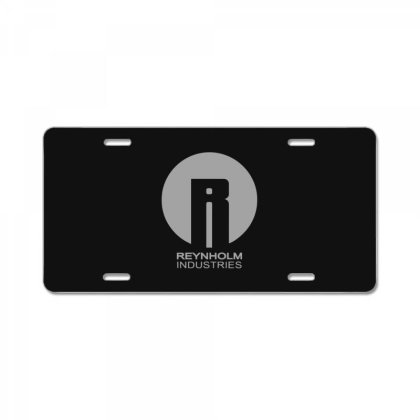 Reynholm Industries Essential License Plate Designed By Yusrizal_