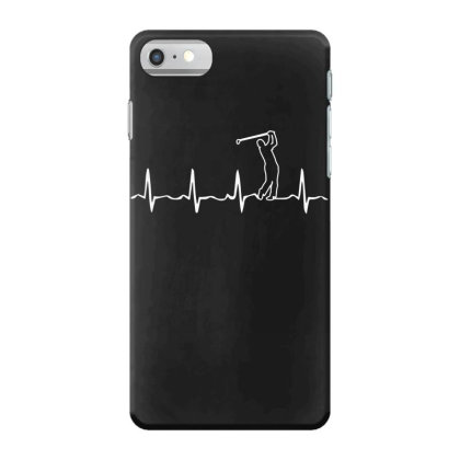 Golf Stick Heartbeat Iphone 7 Case Designed By Funtee