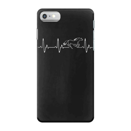 Horse Heartbeat Iphone 7 Case Designed By Funtee