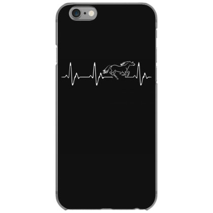 Horse Heartbeat Iphone 6/6s Case Designed By Funtee