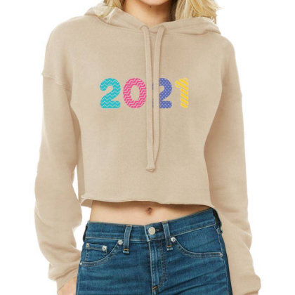 Happy New Year 2021 Cropped Hoodie Designed By Welcome12
