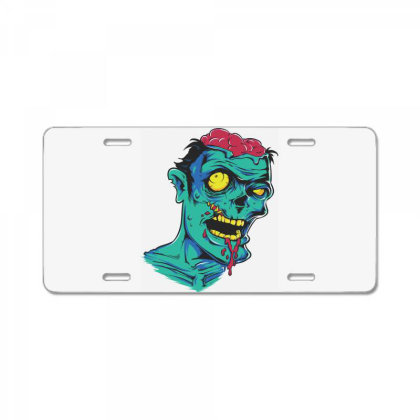 Zombie License Plate Designed By Estore