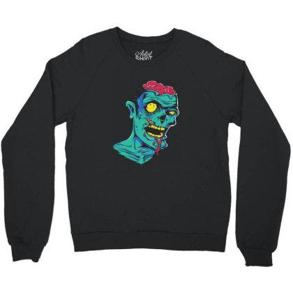 Zombie Crewneck Sweatshirt Designed By Estore