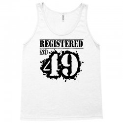 registered no 49 Tank Top | Artistshot