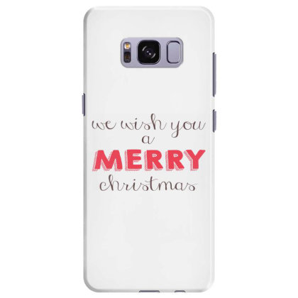 We Wish You A Merry Christmas, Happy New Year Samsung Galaxy S8 Plus Case Designed By Estore
