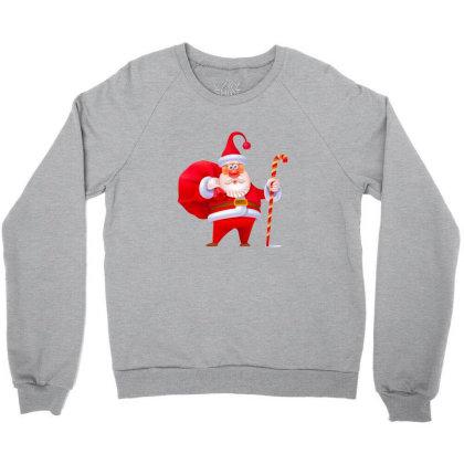 Santa Claus Crewneck Sweatshirt Designed By Chiks