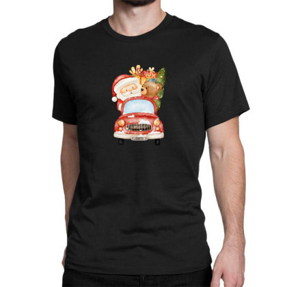 Santa Is Coming Classic T-shirt Designed By Chiks