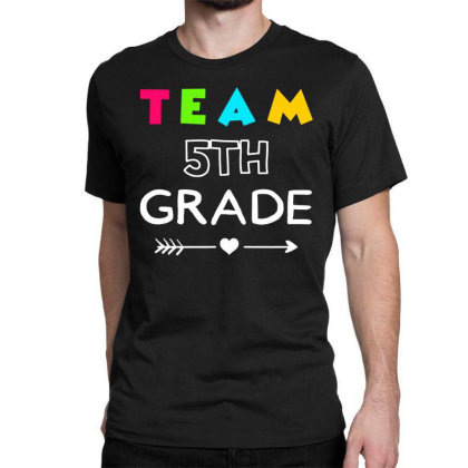 Team 4th Grade Back To School Classic T-shirt Designed By Fanshirt