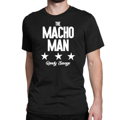 The Macho Man Classic T-shirt Designed By Fanshirt