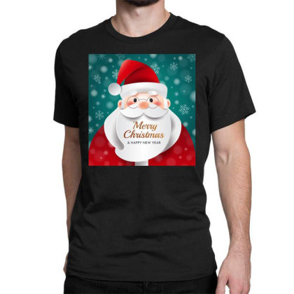 Merry Christmas Classic T-shirt Designed By Chiks