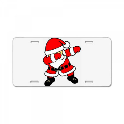 Santa License Plate Designed By Alqamar