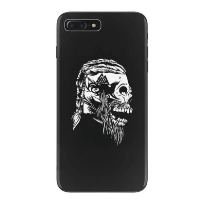 Viking Skull Iphone 7 Plus Case Designed By Fanshirt