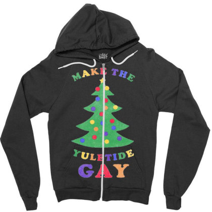 Tipsy Elves Funny Christmas Shirts Zipper Hoodie Designed By Home12