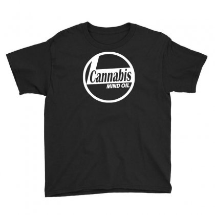Ganja Oil Men Printed Youth Tee Designed By Henz Art