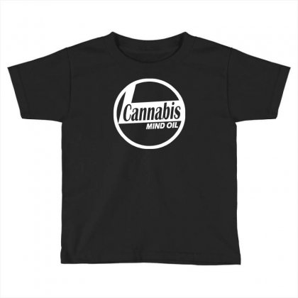 Ganja Oil Men Printed Toddler T-shirt Designed By Henz Art