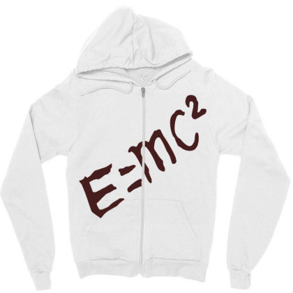 Dr Stone E=mc² Zipper Hoodie Designed By Wowotees