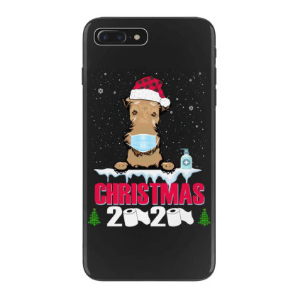 Christmas 2020 Airedale Dog Face Mask Funny Dog Lover Xmas Iphone 7 Plus Case Designed By Love Shiga