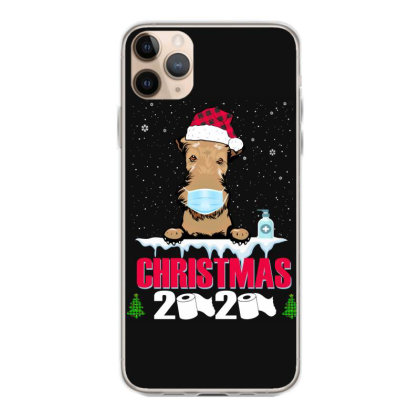 Christmas 2020 Airedale Dog Face Mask Funny Dog Lover Xmas Iphone 11 Pro Max Case Designed By Love Shiga