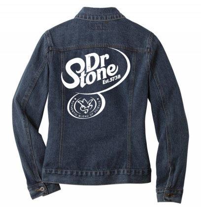 Dr Stone Ladies Denim Jacket Designed By Wowotees
