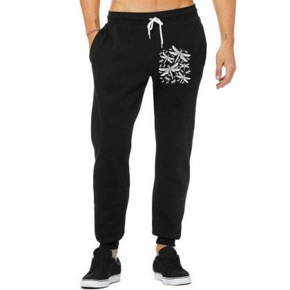 Dragonflies Girly Insects Dragonfly Unisex Jogger Designed By Wowotees