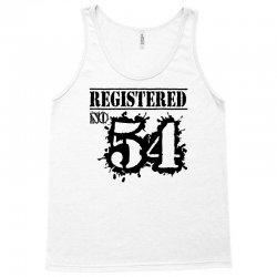registered no 54 Tank Top | Artistshot