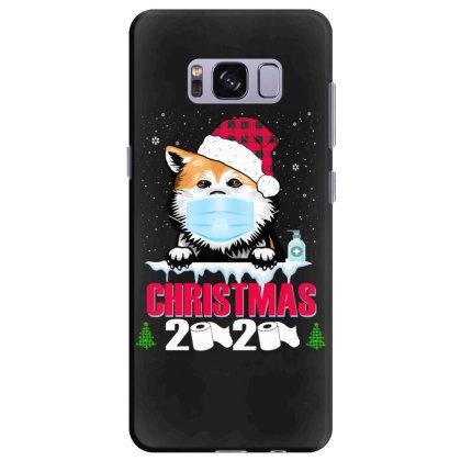 Christmas 2020 Akita Dog Face Mask Funny Dog Lover Xmas Samsung Galaxy S8 Plus Case Designed By Love Shiga