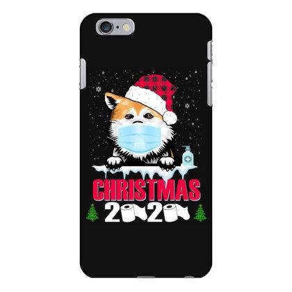 Christmas 2020 Akita Dog Face Mask Funny Dog Lover Xmas Iphone 6 Plus/6s Plus Case Designed By Love Shiga