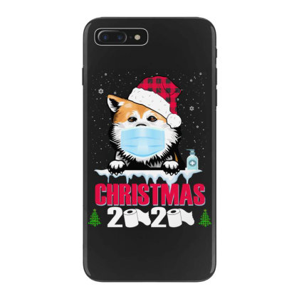 Christmas 2020 Akita Dog Face Mask Funny Dog Lover Xmas Iphone 7 Plus Case Designed By Love Shiga