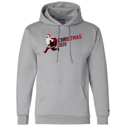 Christmas Santa 2002 Champion Hoodie Designed By Akin
